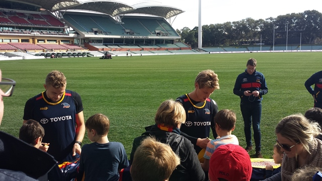 Adelaide Crows training - CRT Country Crows @ Adelaide Oval (July 2017)