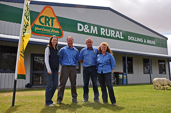 Kim & Glen Mead and Mark & Michelle Dolling, Directors of D & M Rural.